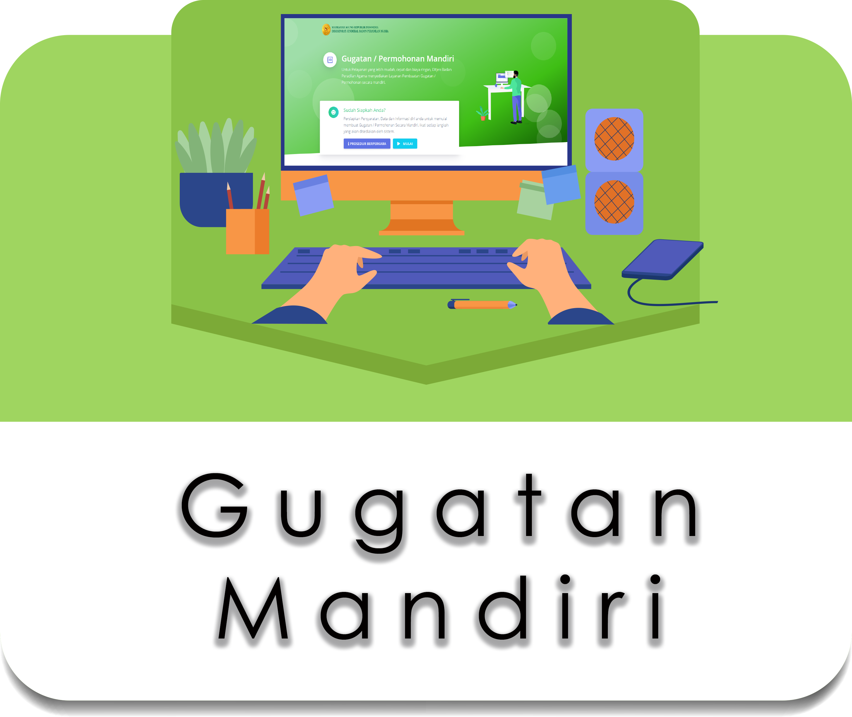 GUGATAN MANDIRI